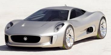 捷豹C-X75超级跑车即将量产